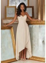 Morilee Beaded Lace and Chiffon Bridesmaid Dress