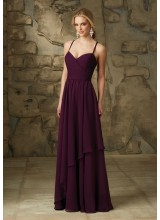 A-Line Luxe Chiffon Morilee Bridesmaid Dress