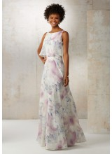 Chiffon A-Line Bridesmaids Dress